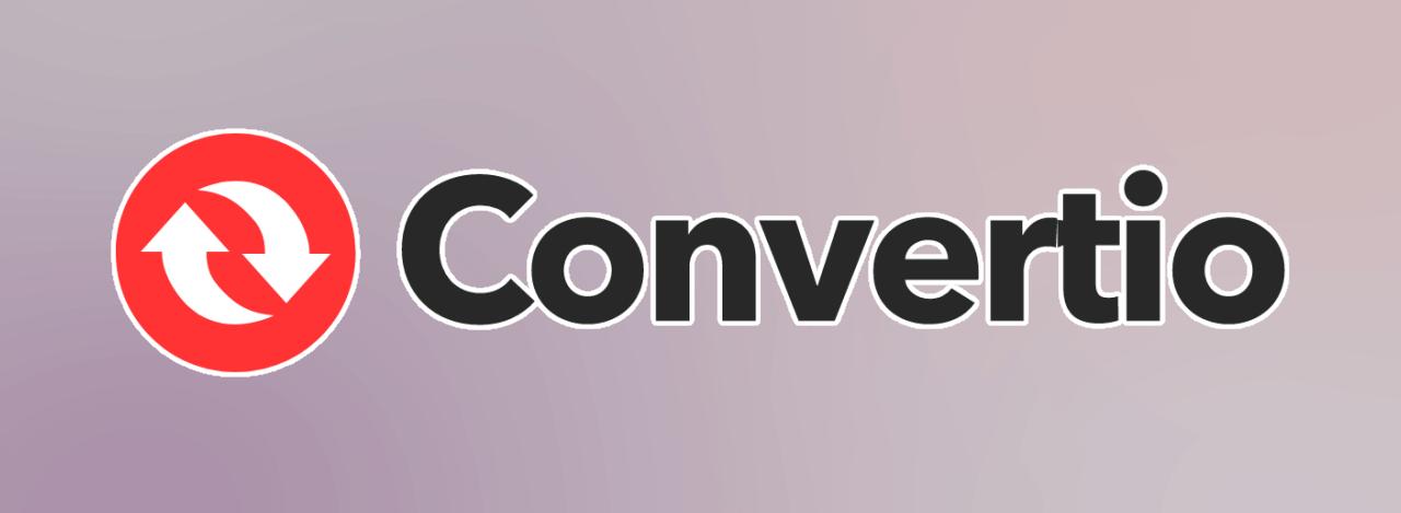 ダウンロードした動画を変換できるConvertio