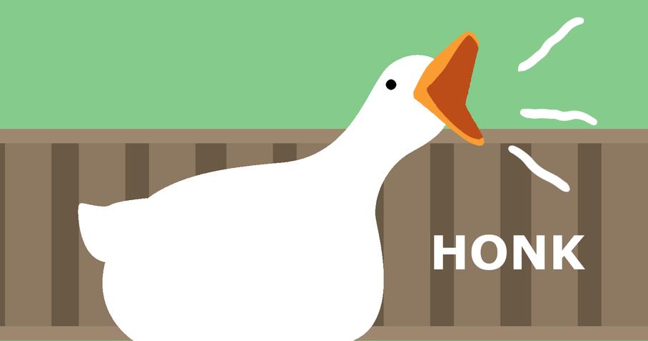 Desktop Goose Honk